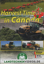 Tractor Farming DVD: HARVEST TIME IN CANADA PART 2