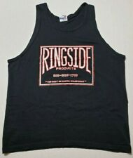New listing Vintage Ringside Boxing Tank Top Shirt Xl Black