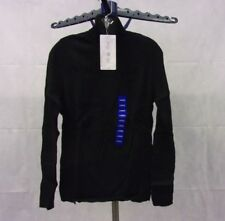 NWT Women's Leo And Nicole Turtleneck Sweater - Ribbed - 100% Cotton