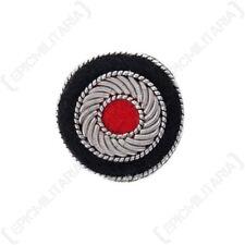 Bullion Cap Cockade - Field Grey - WW2 Repro German Army Patch Badge Insignia