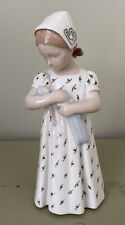 B&G Bing Grondahl Mary Girl With Doll 1721 Denmark Excellent Condition