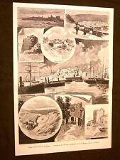 Rara In Sardegna del 1899 Nuraghi, Osilo, Aritzo, Alghero, Cagliari, San Mauro