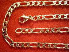 Figarokette Gold 333 Länge 60 cm x 3 mm,Herrenkette Gold 333 Collier Figaro 60cm