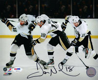 JAMES NEAL SIGNED AUTOGRAPHED 8x10 PHOTO PITTSBURGH PENGUINS PSA/DNA
