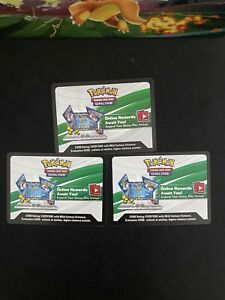 Pokemon Celebrations Code Cards 2 x Booster Pack + 1x Dragapult Prime Collection