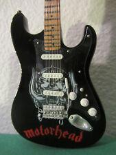 "Guitare miniature ""MOTORHEAD ""avec support"