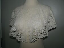 ANTIQUE VICTORIAN LACE COLLAR LARGE HONITON BOBBIN HAND DONE STUNNING  EXCELLEN