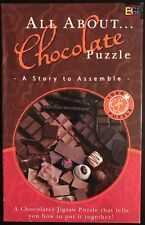 NEW ALL ABOUT CHOCOLATE PUZZLE A STORY TO ASSEMBLE 1000 PIECES TALKING PUZZLE