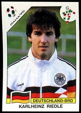 Italia'90 Karlheinz Riedle #211 Copa del Mundo Historia Pegatina Panini (C350)