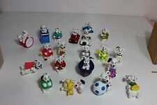 lot 20 Disney 101 Dalmatians Black White Dogs Cup Cake Toppers figures teddy