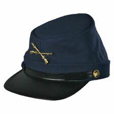 Civil War Kepi Union Army Wool Hat Blue Lined US North