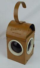 Vintage Chalwyn Oil Kerosene Lantern - Made in England - B33143 - Gold