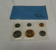 1992 Denver Mint U.S. Coin Souvenir Set Uncirculated Half Dollar Quarter Dime✔