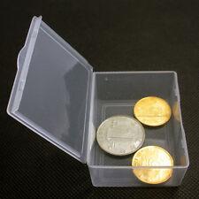 5pcs Plastic Clear Transparent Storage Box Multipurpose Display Box Case Holder