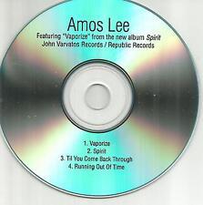 AMOS LEE Spirit Ultra Rare 4TRX Sampler TST PRESS PROMO DJ CD USA 2016 MINT