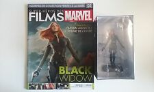 MARVEL,movies,collection,2,BLACK WIDOW,neuf,eaglemoss,magazine