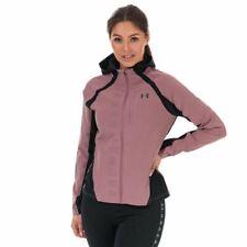 Женские под Armour обогнать шторм легкая куртка в розовом