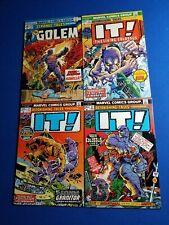 Marvel Astonishing Tales 21 22 23 Colossus Strange 176 Comic Lot 4 Monster IT