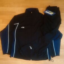 Brine Men's Warm Up/Training Suit - Black/Navy - Medium - New