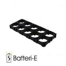 2pcs 18650 Battery 2x5 Cell Spacer Radiating Shell Plastic Holder Bracket