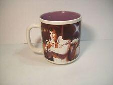 VINTAGE 1992 ELVIS PRESLEY COFFEE MUG the King ceramic HOT CHOCOLATE TEA CUP