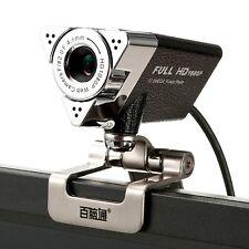 Full HD 1080P Webcam Mini PC Laptop Desktop Network Camera Built-in Microphone