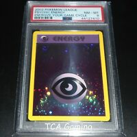 PSA 8 NM-MINT Psychic Energy WOTC HOLO PROMO 2002 League Pokemon Card