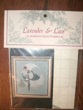 """COMPLETE CROSS STITCH MATERIALS - """"ICE ANGEL"""" BY Lavender and Lace"""