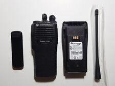 MOTOROLA CP150 4CH 4W UHF 438-470MHz RADIO W/Free Programming GMRS HAM FRS PD FD