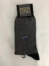 Vintage Polo Ralph Lauren Mens Black Dress Socks Sz 7-12 Discontinued