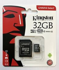 Kingston Micro SD Canvas Select 32GB Class 10 UHS-I, inkl. SD-Adapter, Blister