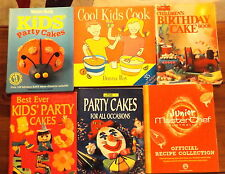 6 Cookbooks Junior Masterchef Women's Weekly Kids Party Cakes Donna Hay Cool Kid