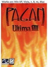 Ultima VIII 8 Pagan Gold PC Mac Game