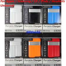 PowerRocks 9000mAh Portable External Battery Charger Power Bank for Cell Phone