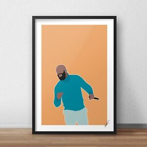 Common INSPIRED WALL ART Print / Poster A4 A3 101 rap rapper