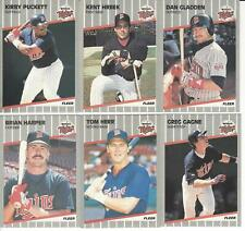 1989 Fleer Minnesota Twins Team Set