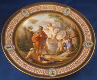 Antique 18thC Royal Vienna Porcelain Scenic Plate Porzellan Szenenteller Wien