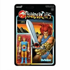Super7 ThunderCats Lion-O  ReAction Figure 3.75-Inch Carded Figure *In Stock