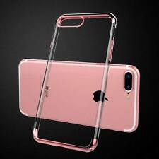 For New iPhone 5s 7 6 6s PLUS Transparent Crystal Clear Case Gel TPU Soft Cover