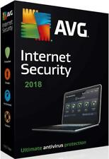 AVG Internet Security 2018 - 1 PC or Laptop & for 1 Year ESD Code