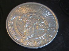 Medal Knights Of Sparta 1994 Down By The Riverside Aluminum Mardi Gras Doubloon