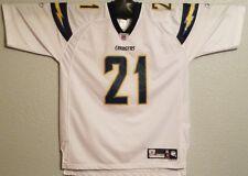 NFL - VINTAGE REEBOK L.A. SAN DIEGO CHARGERS JERSEY TOMLINSON WHITE - MENS XL