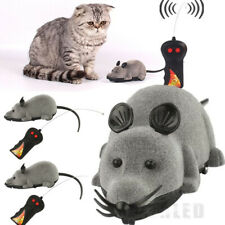 2PCS Remote Control RC Rat Mouse Wireless For Cat Dog Pet Funny Toy Novelty Gift
