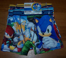 Size (10) Boys Sonic the Hedgehog Athletic Boxer Briefs 4-pk
