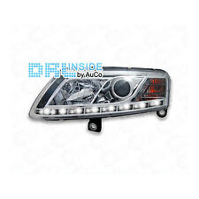 Scheinwerfer Set LED Tagfahrlicht für Audi A6 4F chrom 04-08 R87
