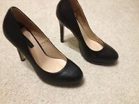 Ladies Dorothy Perkins High Stiletto Heel Court Shoes UK Size 4 USED ONCE