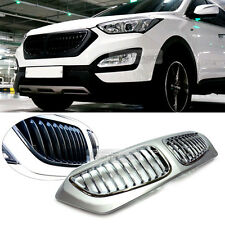 BMW Style Front Carbon Radiator Grille Painted For HYUNDAI 2013-2015 Santa Fe DM