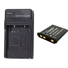 Kodak EasyShare M550 Battery and Charger for KLIC-7006 Digital Camera