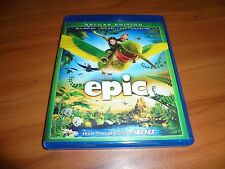 Epic (Blu-ray/DVD/3D 2013, 3-Disc) Used Animated Blue Sky