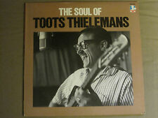 THE SOUL OF TOOTS THIELEMANS LP ORIG '86 FW-40550 PROMO DOCTOR JAZZ SOUL VG+